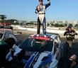 Il pilota Ford prima del podio