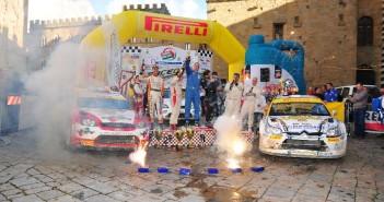 Il podio finale del Raceday