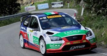 La Focus di Corrado Fontana in azione