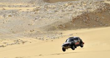 La Mini di Al-Attiyah nel deserto Egiziano