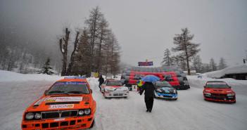 Le vetture protagoniste in parata a Pregelato