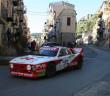 La Lancia Rally 037 sulle strade di Palermo