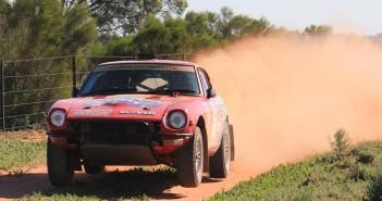 La vettura dei canguri australiani in azione