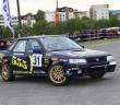La Subaru Legacy del vincitore