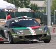 La Lotus Exige di Michele Zaniboni vincitore del 6° rag.