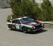 La Lancia Rally 037 della coppia Lucky Pons