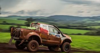 La Toyota del vincitore della gara Paraguayana