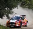 La Fiesta R5 di Tanak in azione.