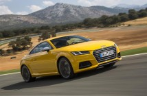 La nuova Audi TT on the road