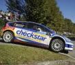 Luca Pedersoli, Matteo Romano (Citroen C4 WRC #1);