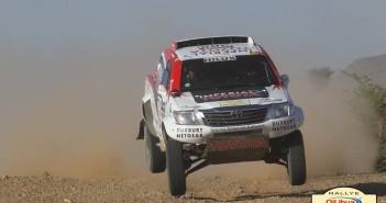La Toyota Hilux del Sudafricano