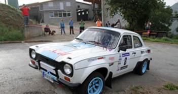 Il vincitore in azione sulle strade Asturiane