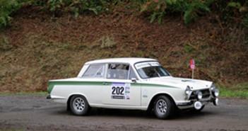 La Ford Cortina Lotus del vincitore