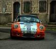 La Porsche 911 di Montini in azione