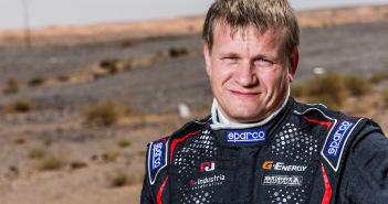 Vladimir Vasilyev, vincitore della Coppa del Mondo Fia per il Cross Country.