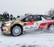 Loeb in azione al vittorioso Montecarlo 2012