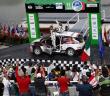 Ott Tanak con la Fiesta R5 della Dmack in Messico.