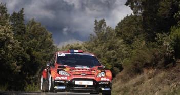 Sarrazin, vincitore in Corsica con la Fiesta RRC