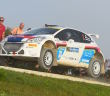 I campioni italiani in carica Andreucci-Andreussi con la Peugeot 208 T16