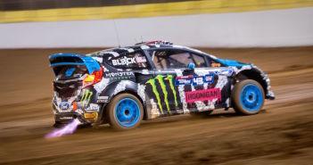 La Fiesta ST RX di Ken Block. Altre ne stanno arrivando per il rallycross a stelle e strisce.