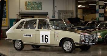Equipaggio a tre per la Renault 16 ufficiale al Montecarlo storico