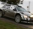 La Skoda Fabia R5 durane i test di sviluppo in Italia a fine gennaio.