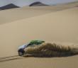Il deserto egiziano durante l'edizione 2014 del Rally dei Faraoni