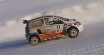 La Toyota Yaris assaggia il ghiaccio di Pragelato