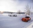 La Porsche 911 di Yves Deflandre e Eddy Gully al Rallye Neige et Glace