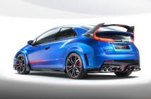 La concept car della nuova Honda Civic Type R, un bolide che sarà presentato in anteprima mondiale a Ginevra