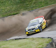 Tanner Foust con la Volkswagen Polo RX Supercar a Lydden Hill