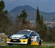 La Fiesta WRC 1.6 di Rossetti in azione