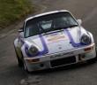 La Porsche 911 RSR di Matteo Musti e Francesco Granata, vincitori a Sanremo.