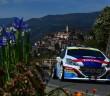 La Peugeot 208 T16 regina nella città dei fiori