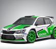 La Fabia R5 che andrà all'assalto del WRC 2