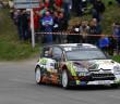 La Citroen C4 WRC di Cuoq.
