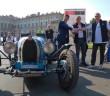 La Bugatti con cui gli argentini Tonconogy-Berisso hanno vinto la Mille Miglia.