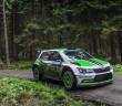 Jan Kopecky vince il Rally Cesky Krumlov con la Skoda Fabia R5.