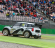 La Mini affidata a Way in azione Hockenheim