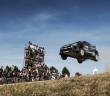 Evans sul Monte Lerno, la più nota cartolina del Rally d'Italia in Sardegna.