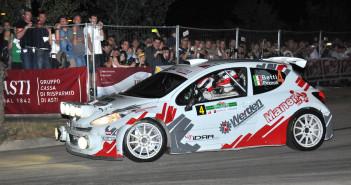 Betti-Pezzoli, vincenti con la 207 Super 2000 al Rally di Alba