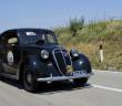La Fiat 508C del 1939 con cui Moceri-Dicembre hanno vinto il Giro di Sicilia.