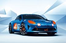 Il concept della nuova Alpine, presentato a Le Mans.