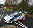 Giacomo Costenaro in azione al Circuit of Ireland.