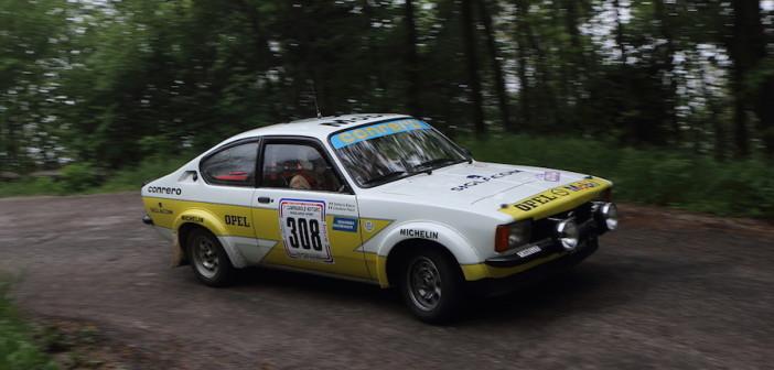 Mozzi-Biacca, vincitori della gara di regolarità sport nel tragico 4 Regioni.