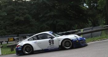 La Porsche 911 GT3 R di Marco Cristoforetti.