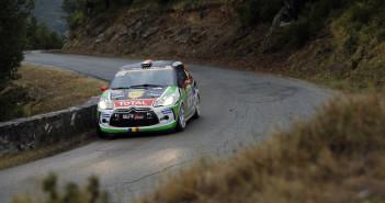 Simone Tempestini e Matteo Chiarcossi, secondi di WRC3 al Tour de Corse.