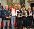 Il podio assoluto della gara conclusiva dell'Italiano di regolarità.