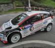 La Fiesta WRC del neo campione Italiano WRC
