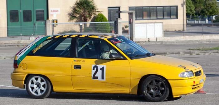 L'Opel Astra di Barel nuovo leader del campionato